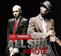 The cover of Eminem's 'That's All She Wrote'