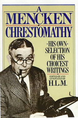 The cover of Mencken's Chrestomathy