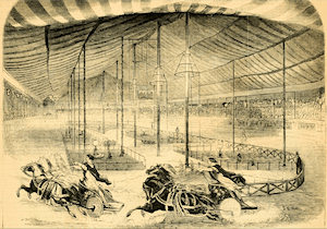 Franconi's hippodrome in New York