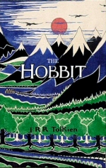 The cover of HarperCollins' 70th-anniversary edition of The Hobbit.