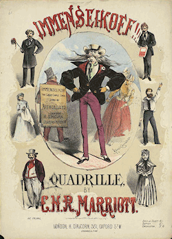 The cover of Marriott's quadrille
