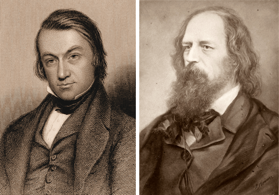 Charles Mackay and Alfred Tennyson