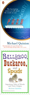 The two covers of Michael Quinion's book