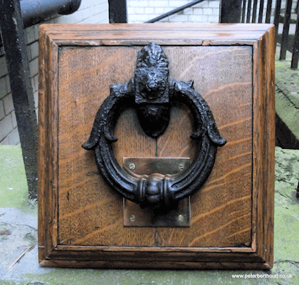 The famous Newgate knocker