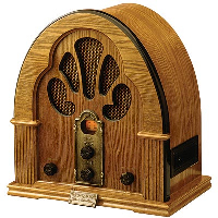An old radio