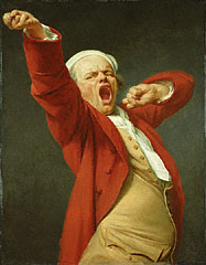 A self-portrait of Joseph Ducreux
