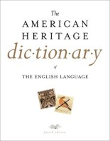 The cover of American Heritage Dictionary
