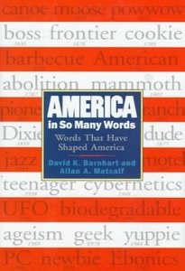 The cover of America In So Many Words