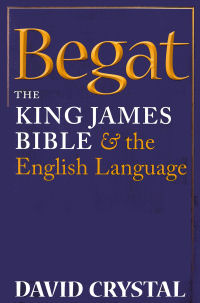 The cover of Begat by David Crystal
