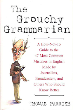 The cover of The Grouchy Grammarian