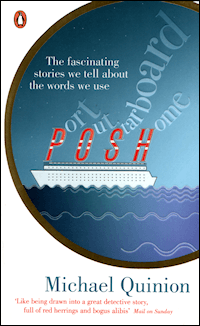 The cover of the paperback edition of Port Out, Starboard Home