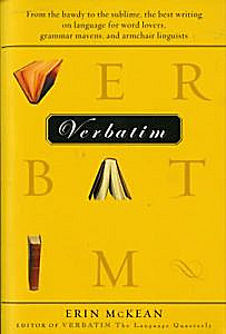 The cover of 'Verbatim'