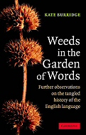 The cover of Weeds in the Garden of Words
