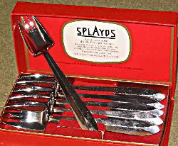 A presentation box of six splayds