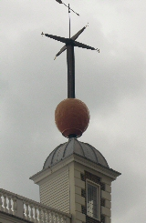 The time ball at the Greenwich Royal Observatory