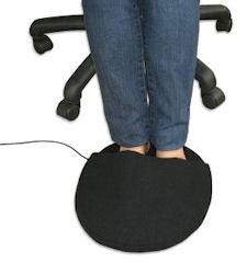 A USB foot warmer