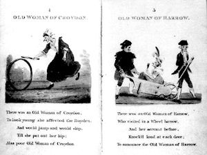 Two limericks from 'The History of Sixteen Wonderful Old Women'